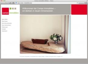 Startseite mit Überschrift- und Bilderwechsler