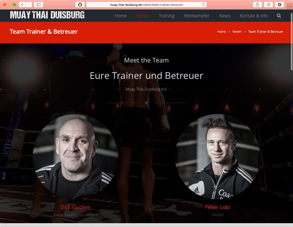 Muay Thai - Trainer