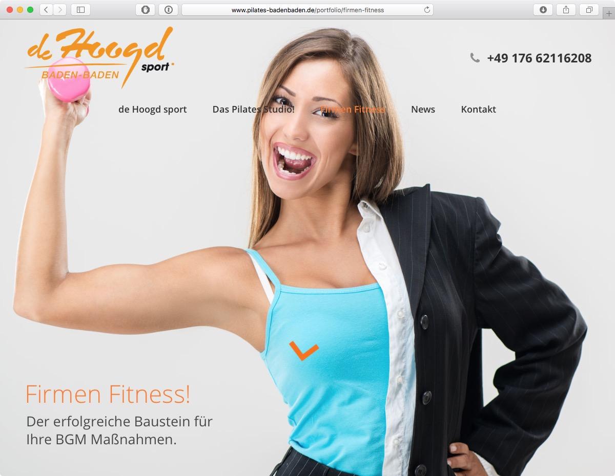 Pilates Baden-Baden - Firmen-Fitness