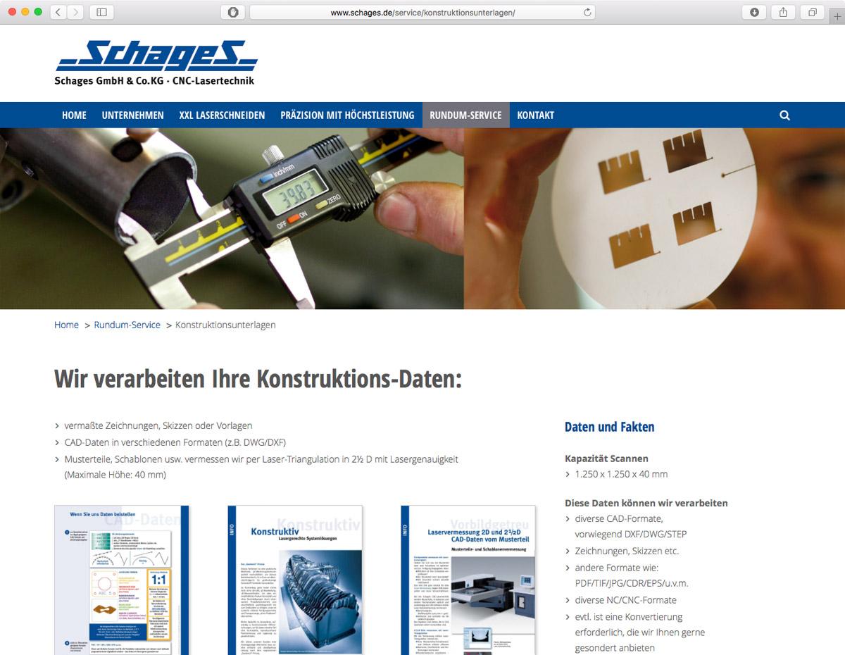 Schages GmbH und Co. KG - Konstruktionsunterlagen