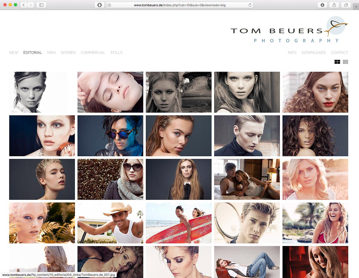 Tom Beuers - Editorial
