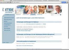IMIBE - Studium